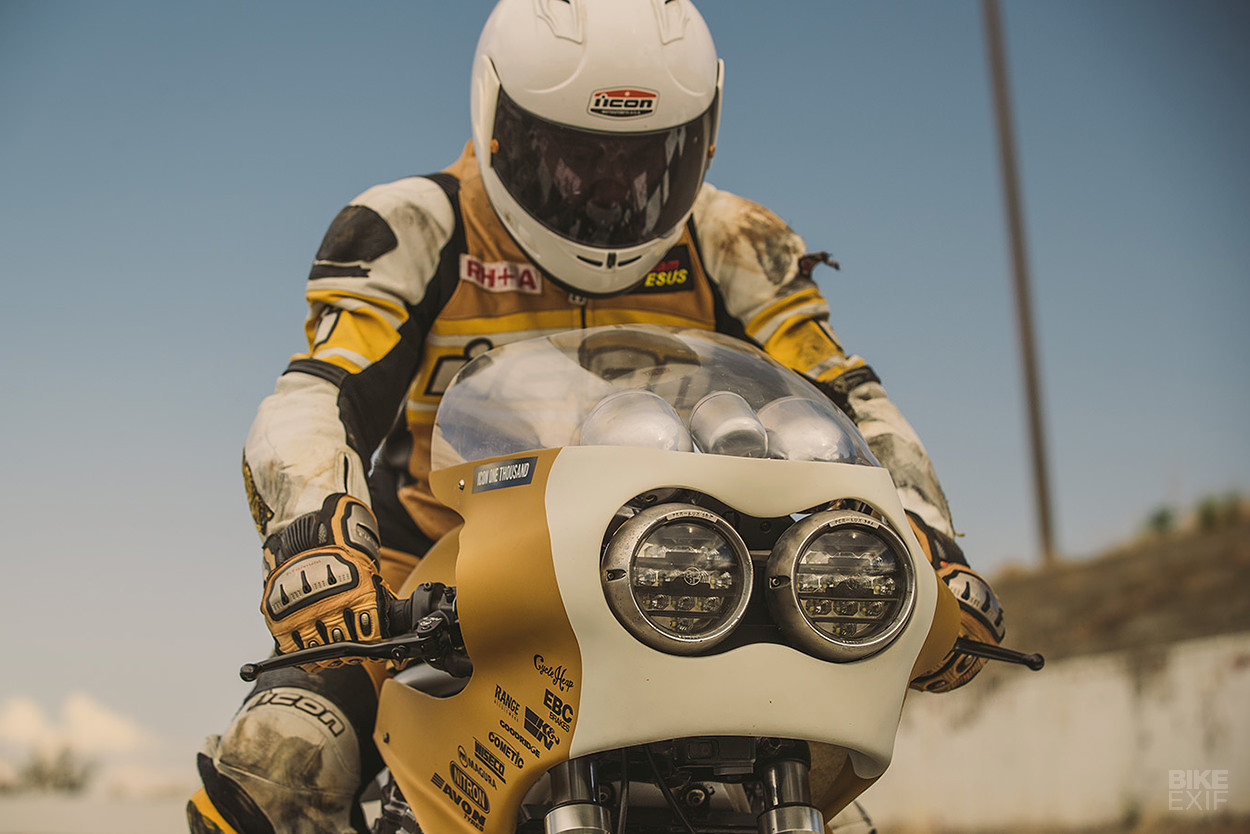Foto de Colonel Butterscotch, una moto creada a partir de otras motos (1/12)