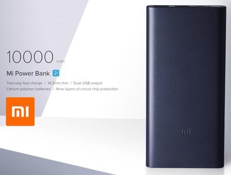 Nueva batería externa Mi Power Bank 2i, de Xiaomi, por 14,99 euros y envío gratis con este cupón