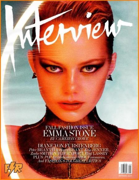 Emma Stone ya tiene su número de septiembre (Interview sabe)
