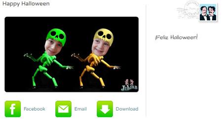 Un vídeo de tus hijos haciendo el baile del esqueleto para Halloween