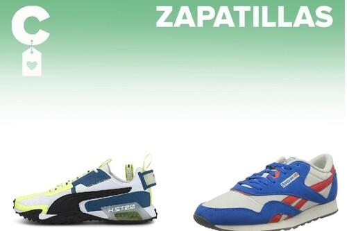 Chollos en tallas sueltas de  zapatillas Puma, Reebok y Under Armour por menos de 40 euros en Amazon