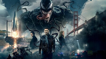 'Venom': Tom Hardy sobresale en una caótica película de superhéroes que expande el universo de Spider-Man