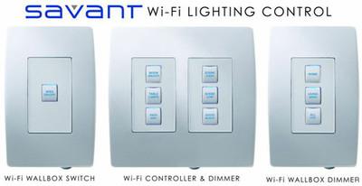 Savant Smartlighting Wifi, sistemas de control remoto para luces