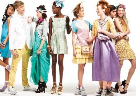 look promocion vestidos color