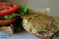 Hamburguesas veganas de brócoli y garbanzos. Receta saludable