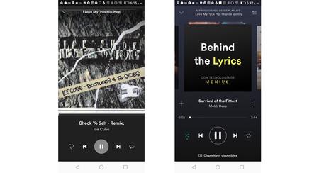 Spotify Lite Playlists