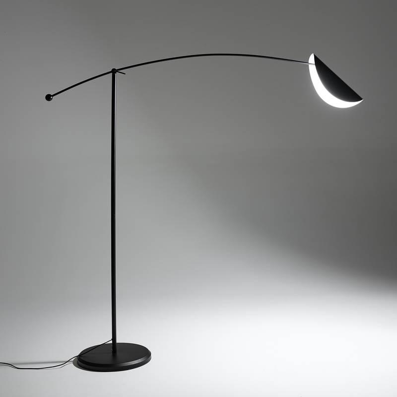Lámpara de pie con forma de arco Funambule