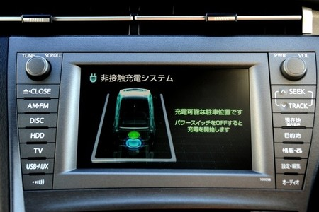 Sistema recarga inalámbrica Toyota