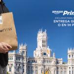 Amazon Prime Now llega a Madrid: entrega inmediata de alimentos frescos y miles de productos
