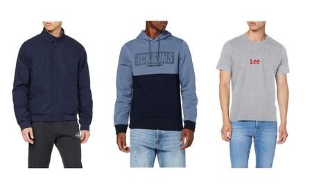 Chollos en talla sueltas de sudaderas, chaquetas o camisetas de marcas como Lee, Quiksilver o Dickies por 30 euros o menos