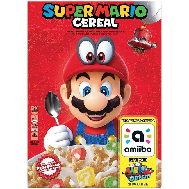 Super Mario Cereales