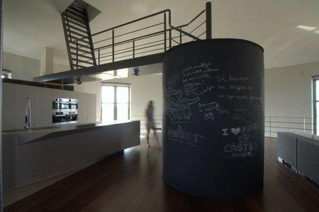 Vivir en una torre de agua - cocina