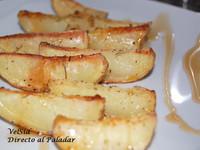 Patatas al horno con jarabe de arce. Receta