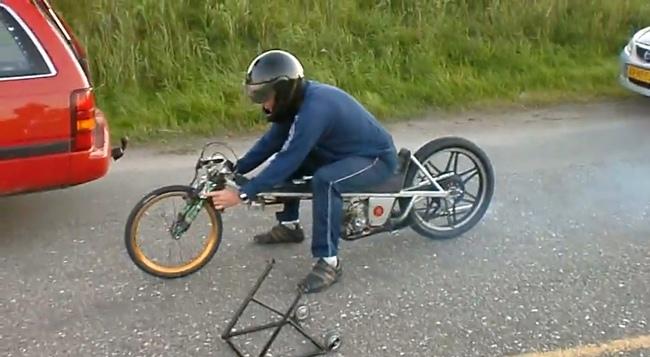 Kreidler Gizmo 100 km/h en 4 segundos
