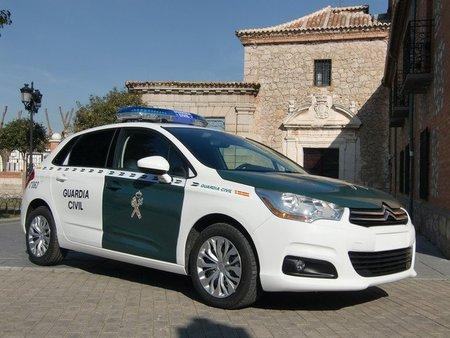 Cazan a 207 km/h al jefe de la Guardia Civil de Tráfico de Soria