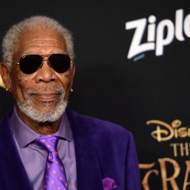 Morgan Freeman domina el color del año y se enfunda en el poder del ultravioleta