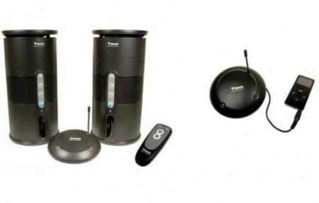 Altavoces inalámbricos para tu reproductor de audio