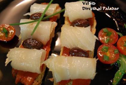 recetas de pintxos de bacalao ahumado