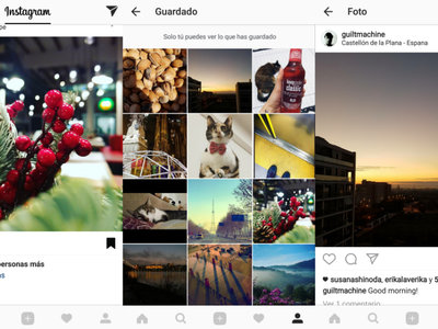 Instagram ahora te permite guardar cualquier post para revisitarlo después
