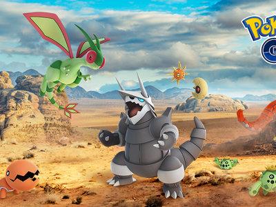 Pokémon GO suma desde hoy a 23 Pokémon nuevos procedentes de la tercera generación