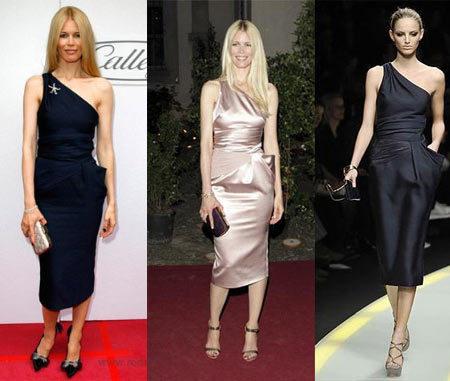 Claudia Schiffer, mismo modelo, diferente color