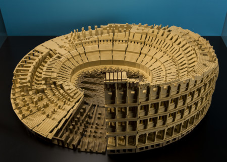 Brickbybrick Colosseum Top View