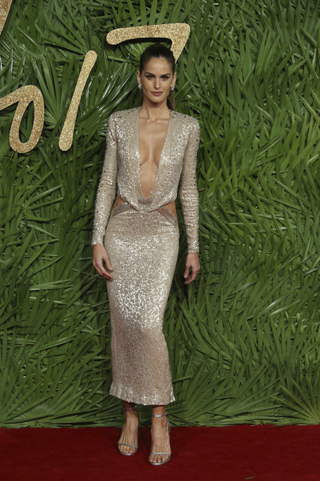 british fashion awards alfombra roja Izabel Goulart