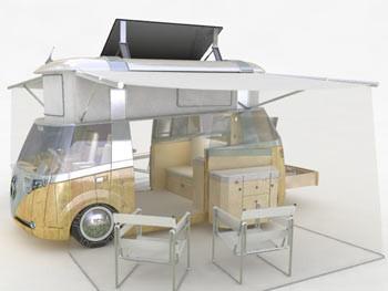 La furgoneta de los hippies del siglo XXI