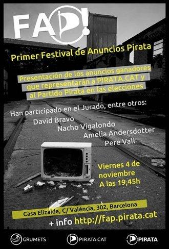 Notas de campaña [spot pirata, estreno #indignados, pegada de carteles en Sol, el CIS] #20N