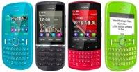 Nokia Asha 200, 201, 300 y 303: Nokia no se olvida de S40