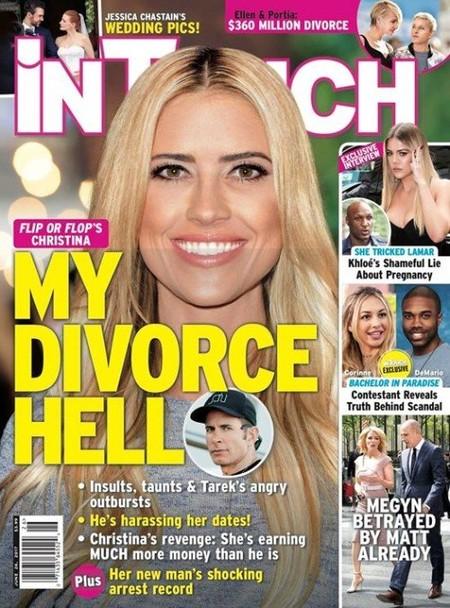 Una rubia que vivió un divorcio de infierno