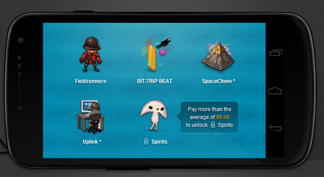 Humble Bundle para Android 3