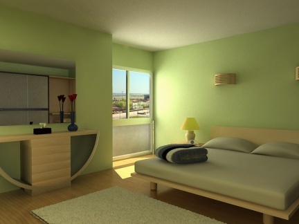 Como Dividir Una Habitacion En Dos Dormitorios. Dormitorios With ...