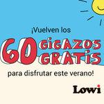 Lowi se prepara para el verano y regala 60 GB de datos