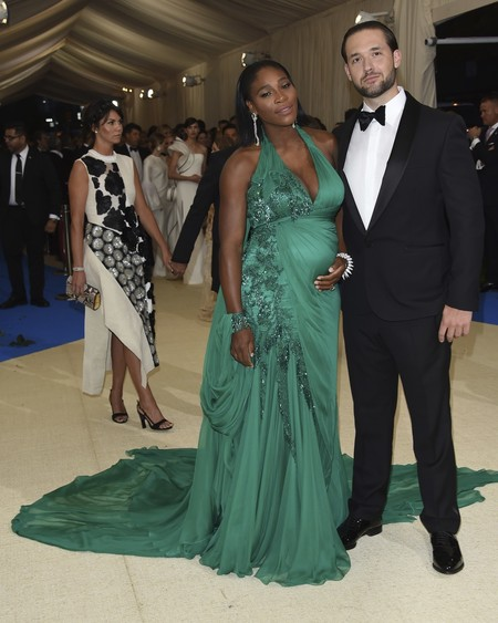 Serena Williams Alexis Ohanian