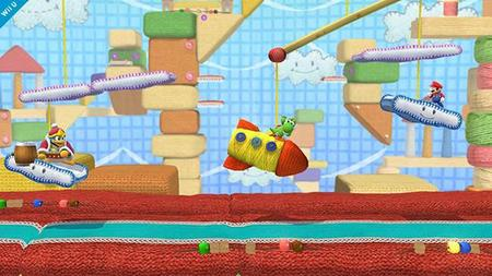 Super Smash Bros De Wii U Tendra Un Escenario De Yoshis Woolly World 00