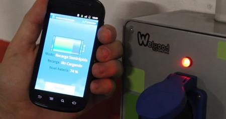 Telefónica presenta un proyecto de carga multimedia de coches eléctricos