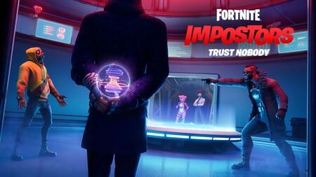 """Fortnite reconoce que su modo """"Impostores"""" ha sido una inspiración en Among Us y se piensa una posible colaboración"""