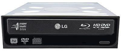 LG GGW-H10N, Blu-ray y HD-DVD en una unidad interna