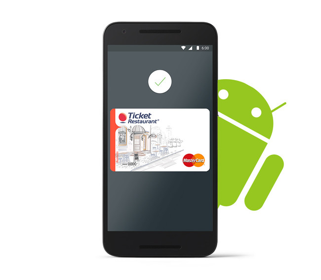 Android pay Ticket Restaurant