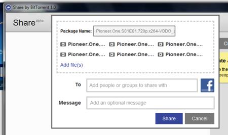 Share, compartiendo archivos fácilmente utilizando la tecnología BitTorrent