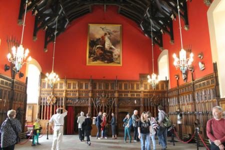 Castillo Edimburgo con niños