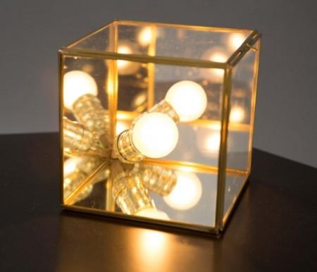 Lampara De Mesa Cubo Transparente Still1 V1