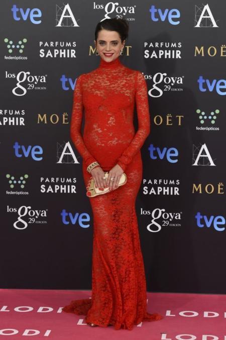 Macarena Gomez en Premios Feroz 2015