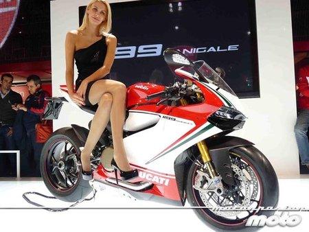 Diseñando la Ducati 1199 Panigale en vídeo y en vivo en el EICMA
