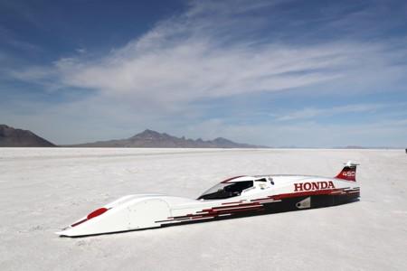 Sólo tiene 660 cc, pero el S-Dream es el Honda más rápido del mundo con 421,45 km/h