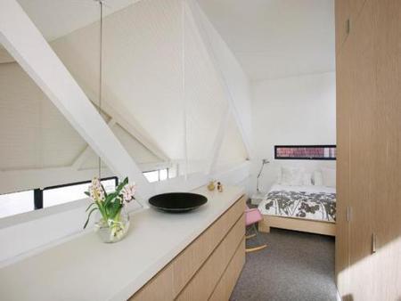El dormitorio principal.