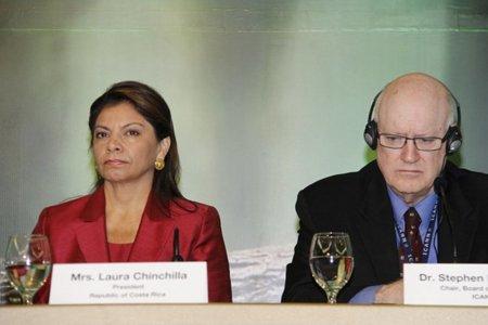 La presidenta de Costa Rica pide no limitar el potencial de la red