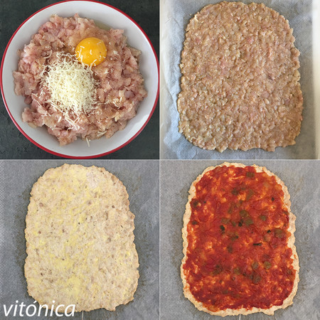 Pizza Keto Pasos