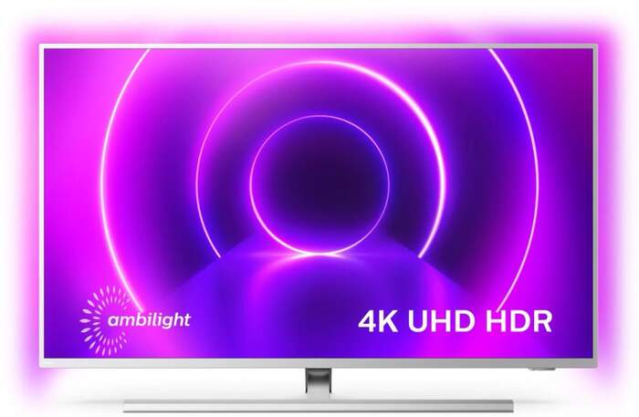 """TV Philips 58"""" 58PUS8535/12 - UHD 4K, Smart TV Android, P5, Dolby Vision/Atmos, HDR10+, Ambilight"""
